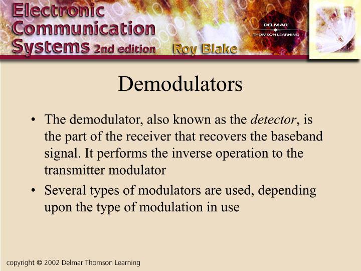 Demodulators