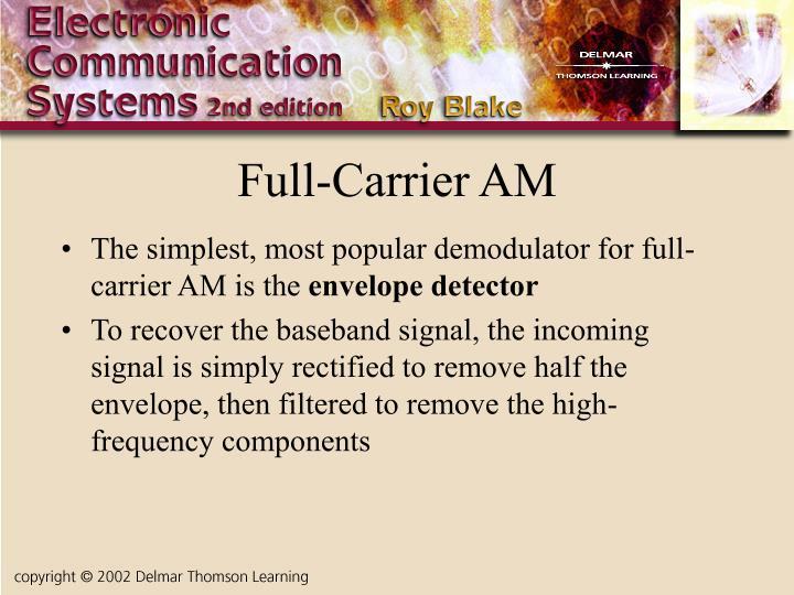 Full-Carrier AM