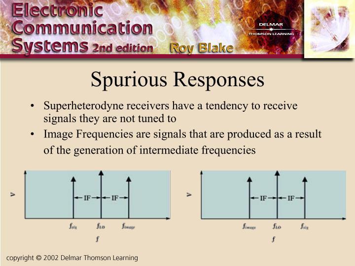 Spurious Responses