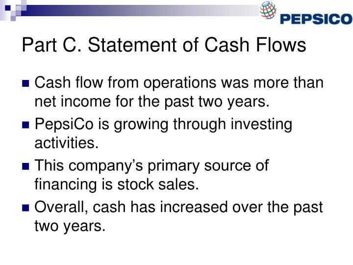 Part C. Statement of Cash Flows
