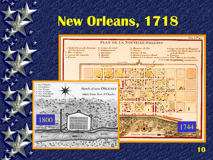 New Orleans, 1718