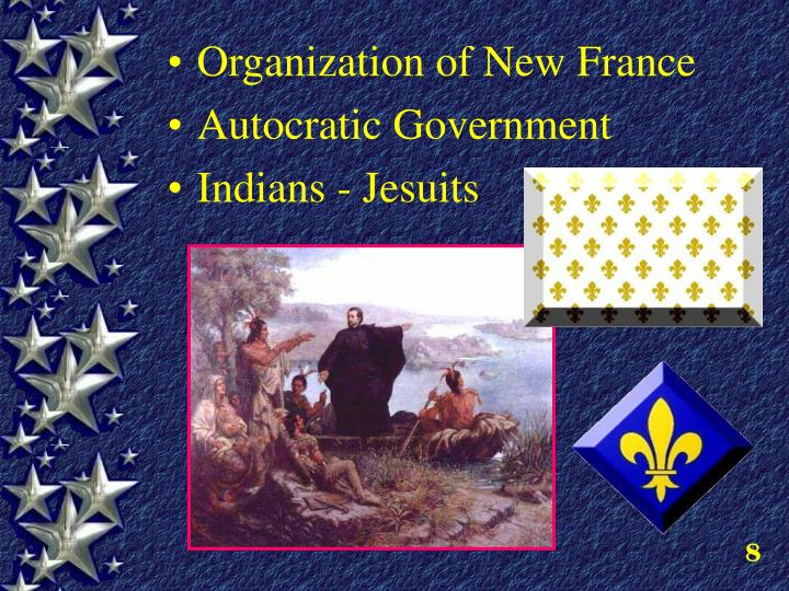 Organization of New France