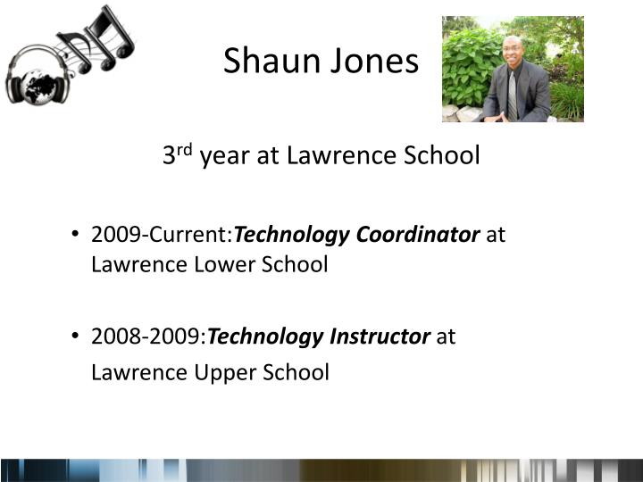 Shaun Jones