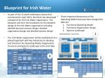 blueprint for irish water