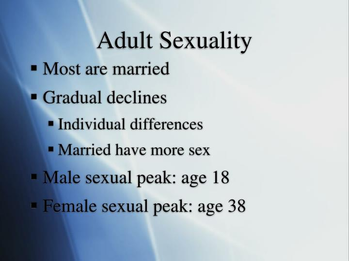 Adult Sexuality