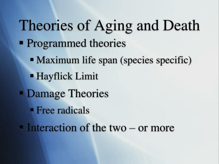 Theories of Aging and Death