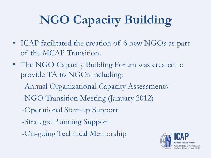 NGO Capacity Building