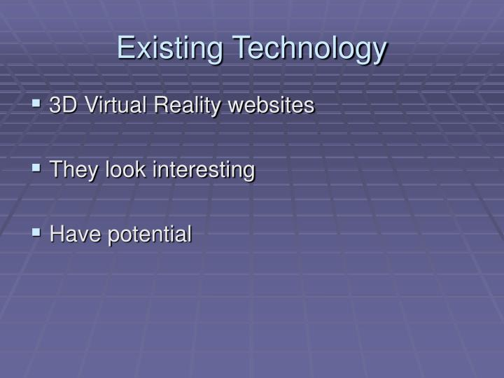 Existing Technology