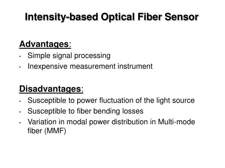 Intensity-based Optical Fiber Sensor