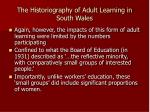 the historiography of adult learning in south wales4