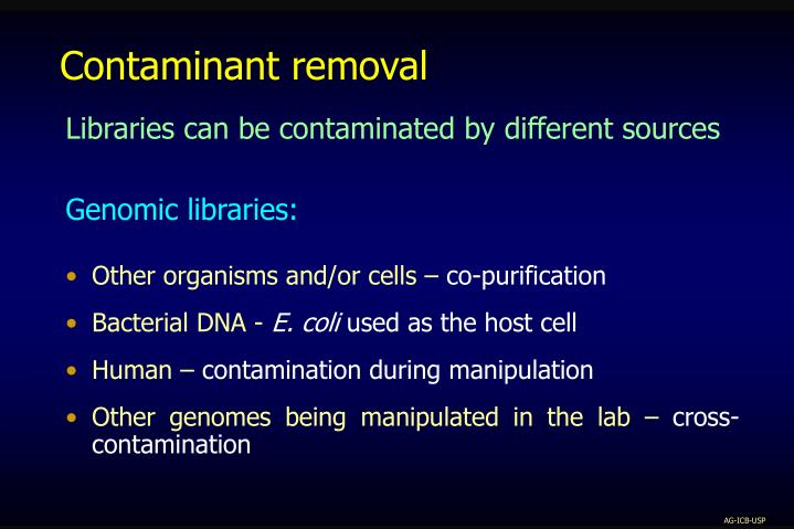 Contaminant removal