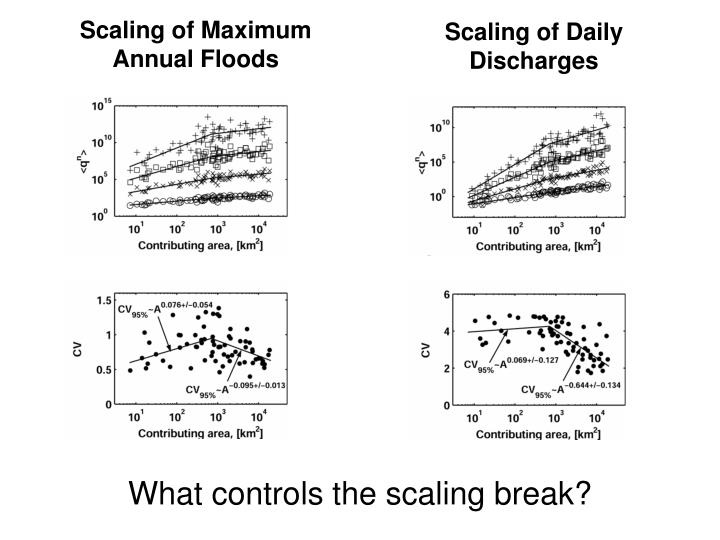 Scaling of Maximum