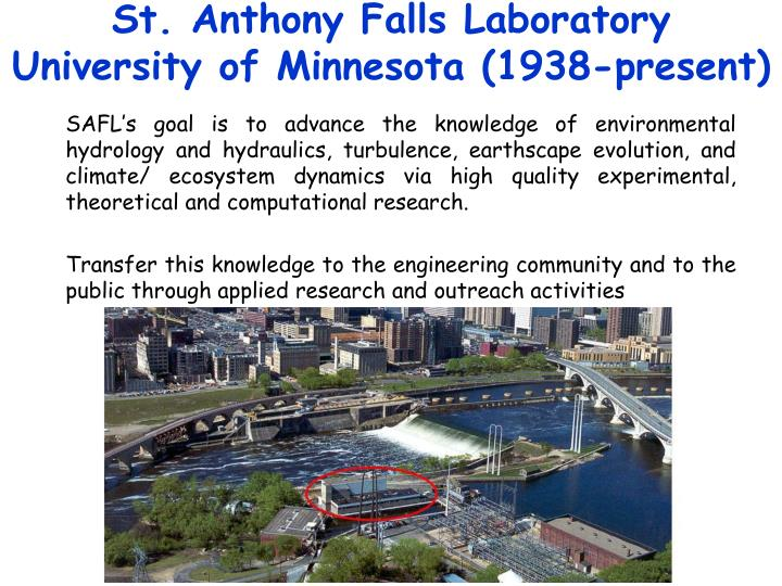 St. Anthony Falls Laboratory