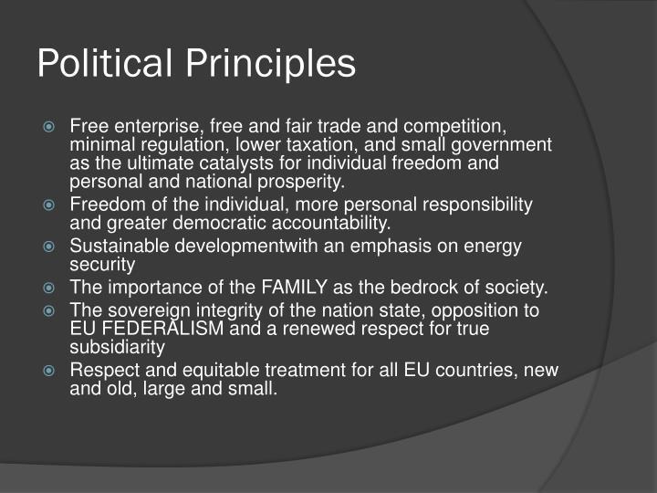 Political Principles