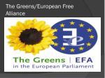 the greens european free alliance