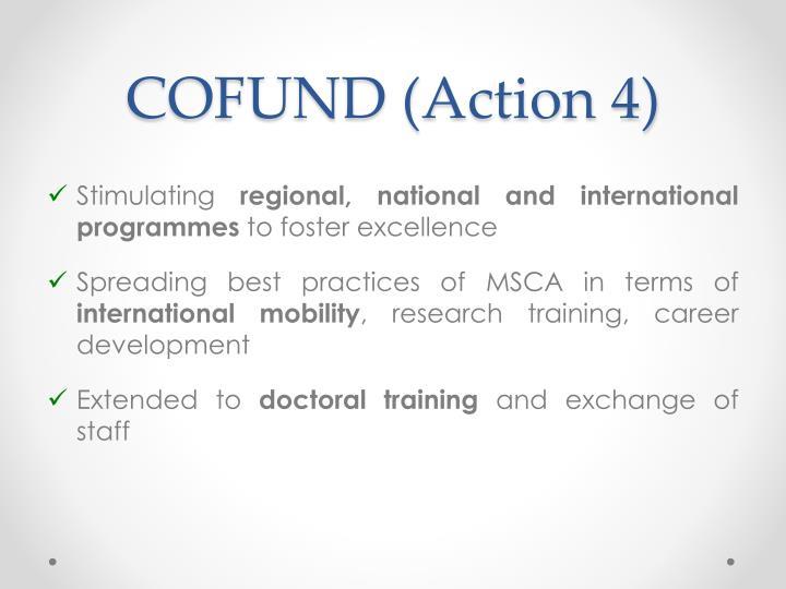 COFUND (Action 4)