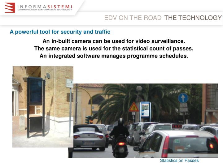 EDV ON THE ROAD