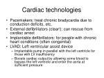 cardiac technologies