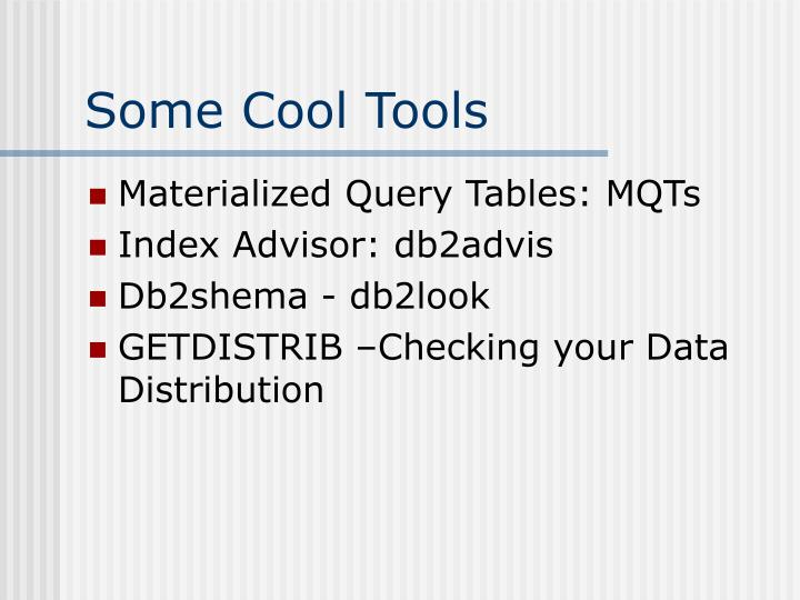Some Cool Tools