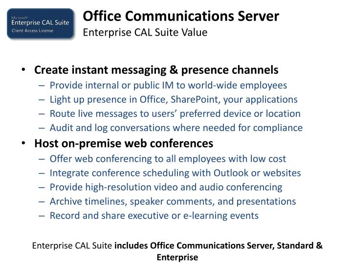 Office Communications Server