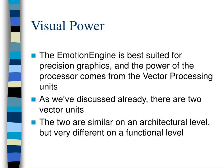 Visual Power