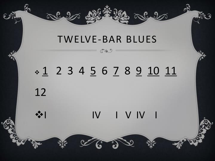 Twelve-Bar Blues