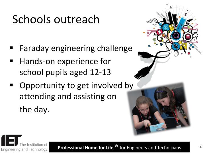 Schools outreach