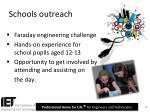 schools outreach