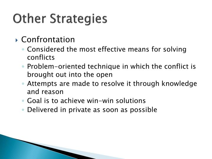 Other Strategies