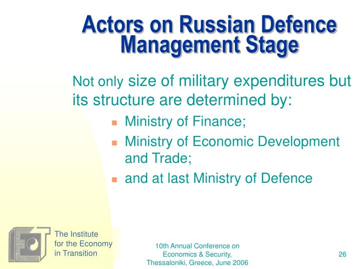 Actors on Russian
