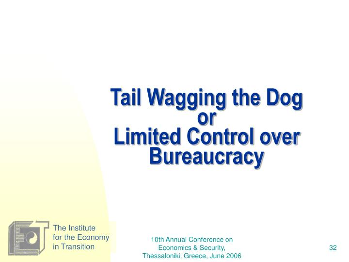 Tail Wagging the Dog
