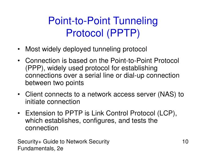 Point-to-Point Tunneling