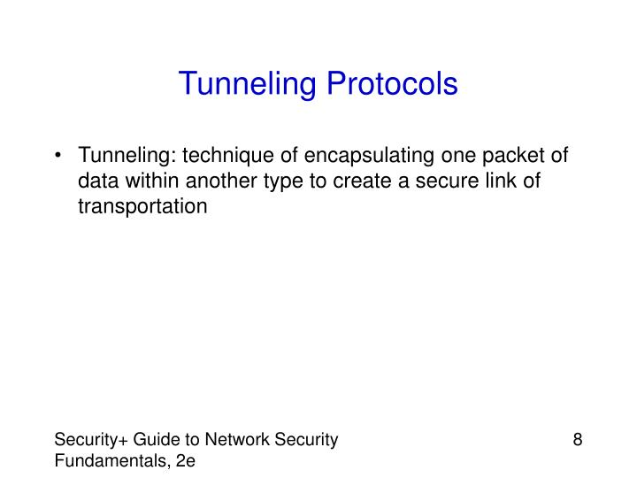 Tunneling Protocols