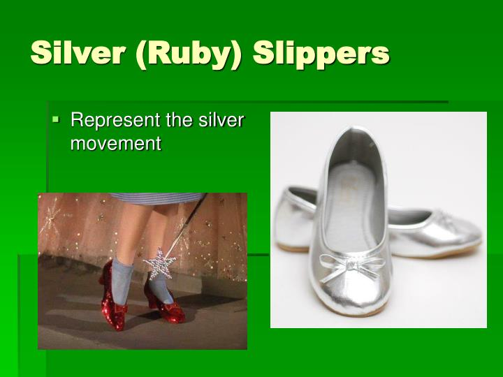 Silver (Ruby) Slippers