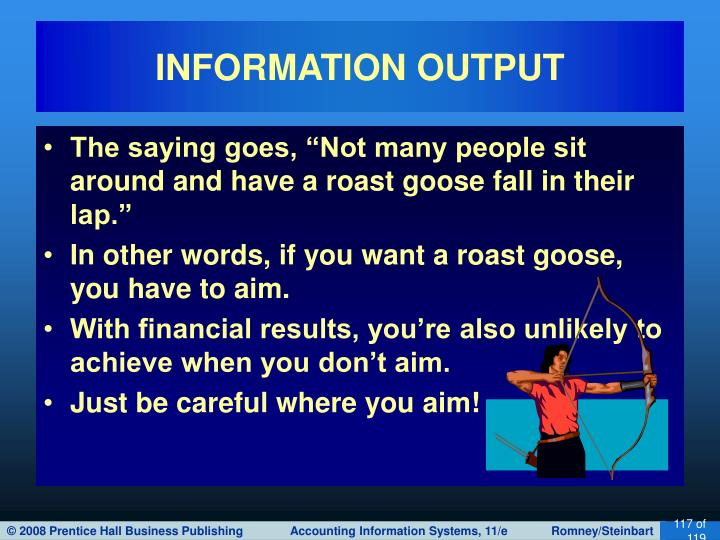 INFORMATION OUTPUT
