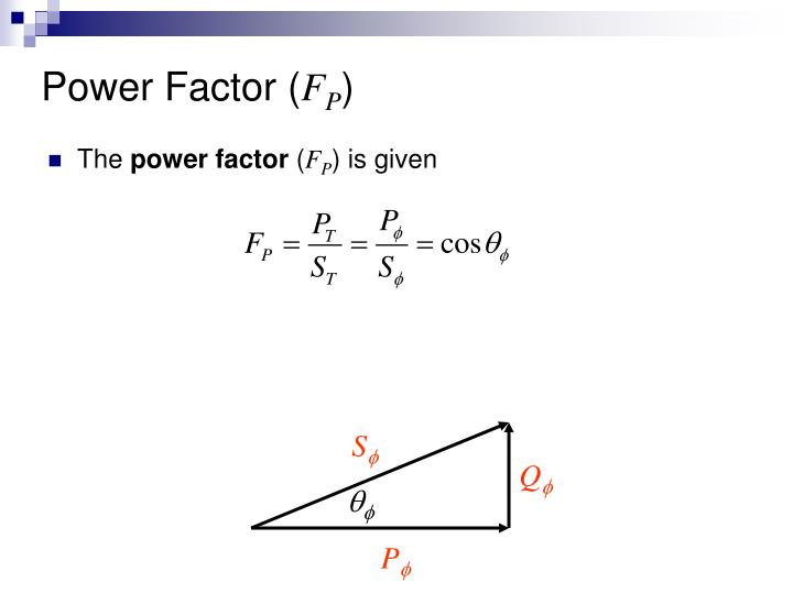 Power Factor (