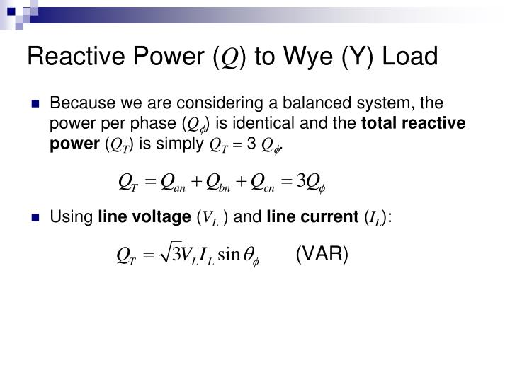 Reactive Power (