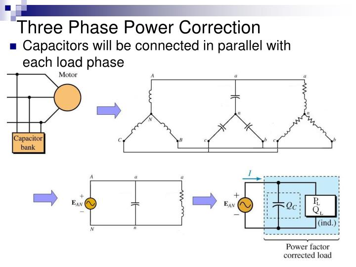 Three Phase Power Correction