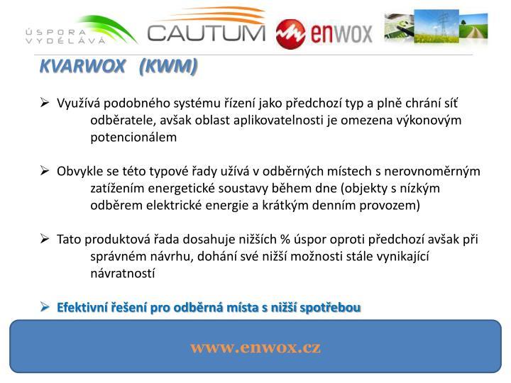 KVARWOX   (KWM)
