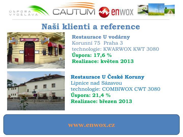 Naši klienti a reference