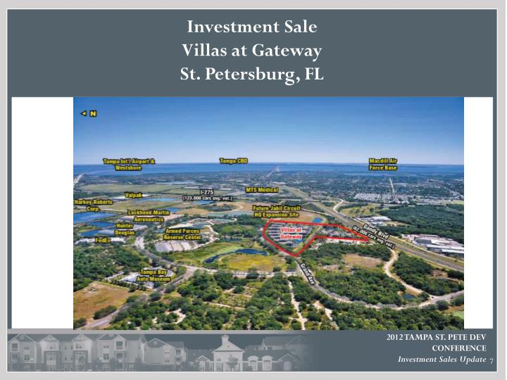 Investment Sale