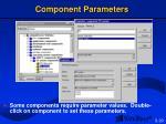 component parameters