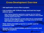 cross development overview