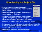 downloading the project file