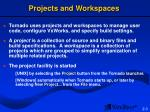 projects and workspaces