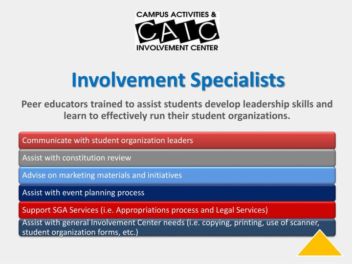 Involvement Specialists