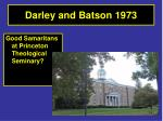 darley and batson 1973