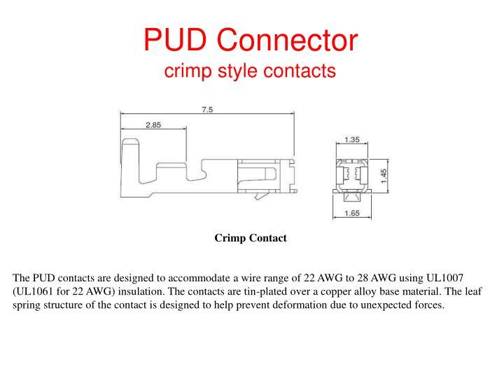PUD Connector