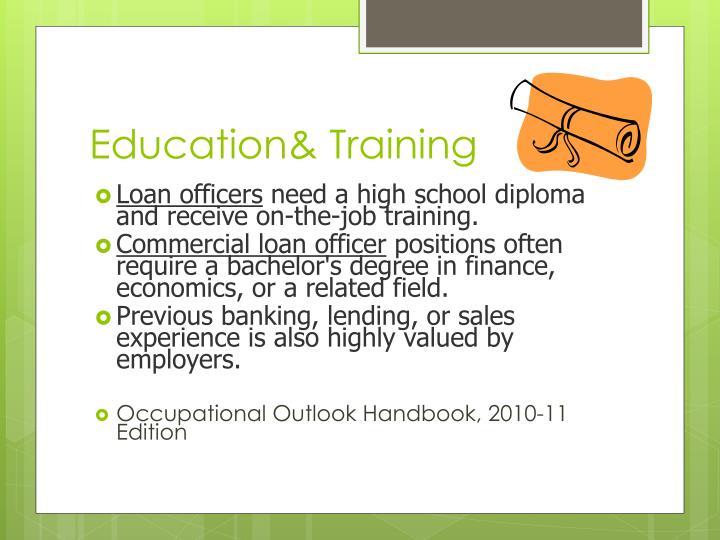 Education& Training