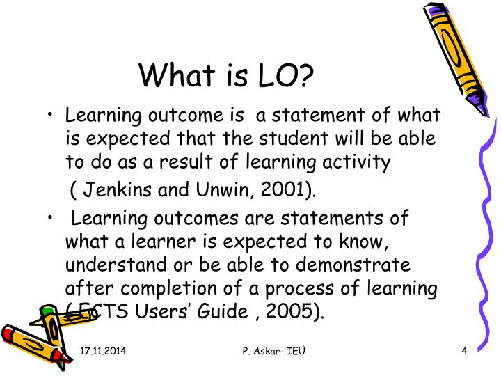 What is LO?